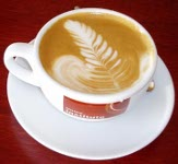 kávé habbal