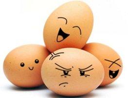 az egészséges tojás